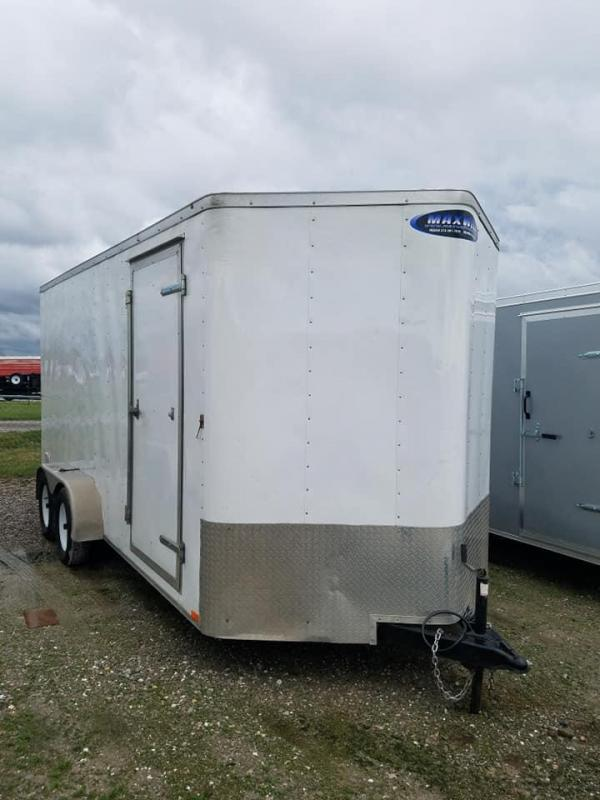 2016 Doolittle Trailer Mfg V-Nose Enclosed Cargo Trailer