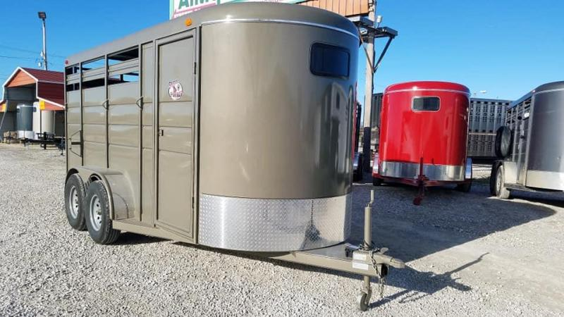 New 2019 BrushPopper 3 Horse BP Trailer