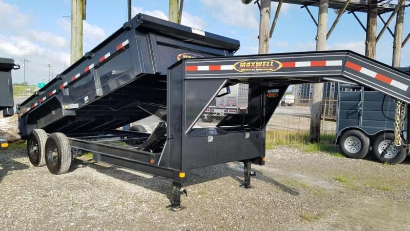 2020 Maxwell DC LoPro GN Dump Trailer