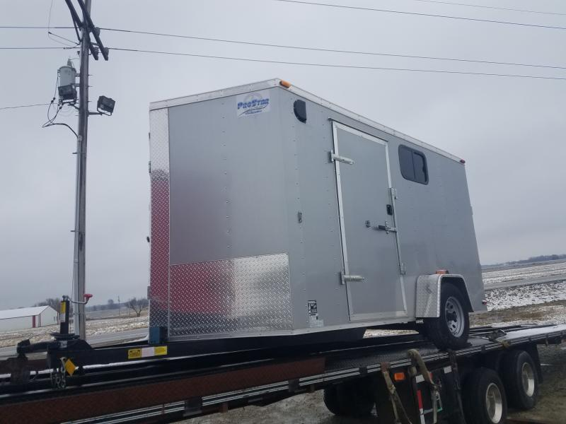 New 2019 Maxwell Deluxe 7 x 12 Enclosed Cargo Trailer