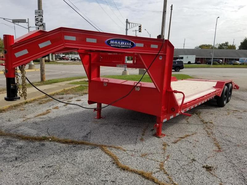 2020 Delco Trailers LoPro Flatbed Equipment Trailer