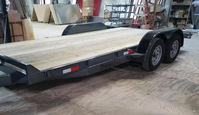 2020 Maxwell Flatbed Car Hauler Flatbed Trailer