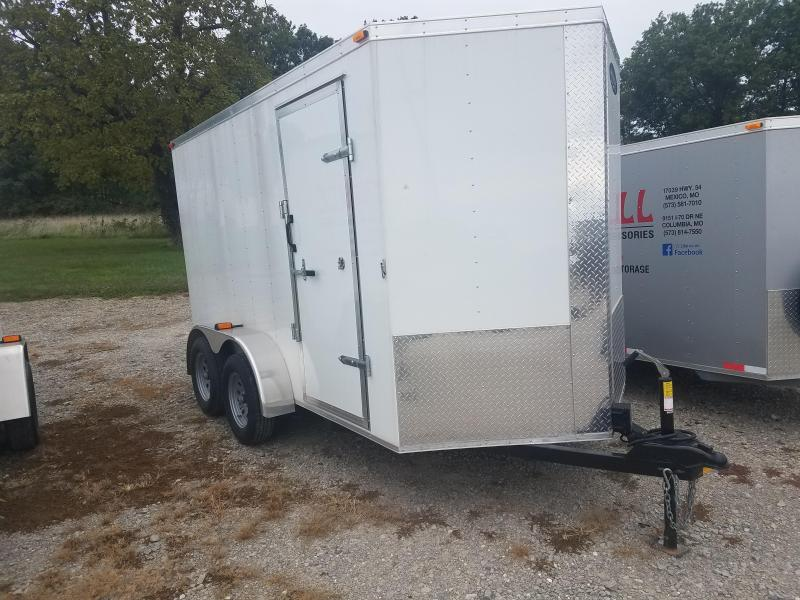 New 2019 Maxwell 6 x 12 Enclosed Cargo Trailer