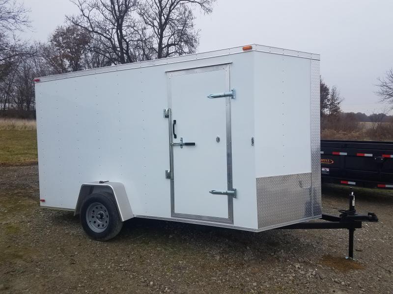 "2020 Maxwell 6'X12'X80"" Enclosed Cargo Trailer"