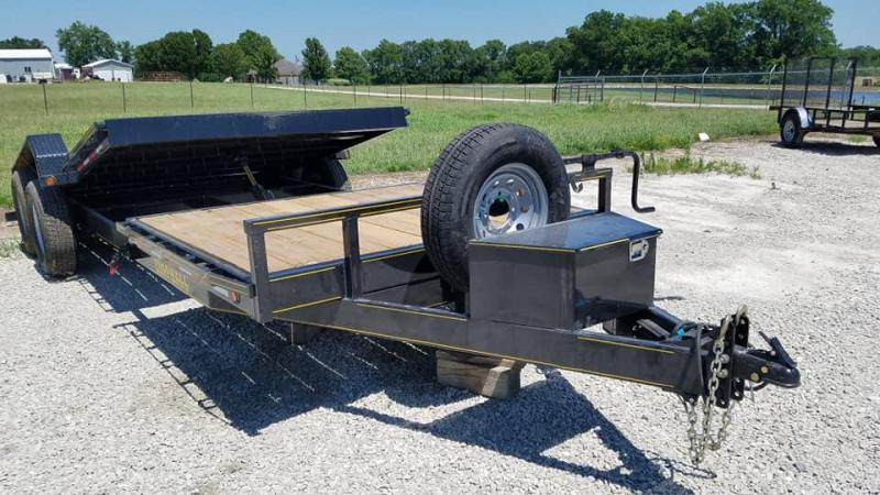 2019 Delco Trailers Maxwell Tilt Flatbed Equipment Trailer