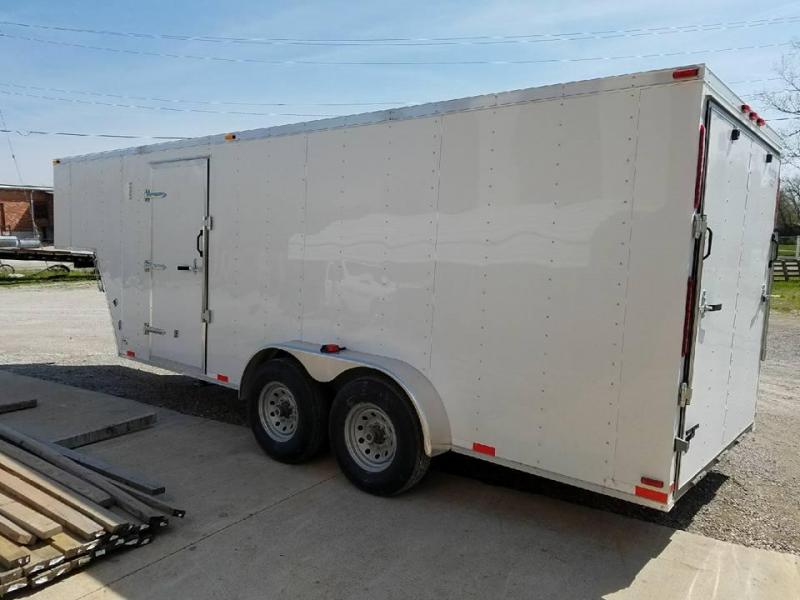 New 2018 Maxwell 7 x 18 Enclosed Cargo Trailer