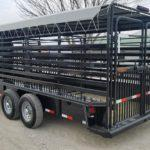 New 2019 Delco 24 ft Gooseneck Livestock Trailer