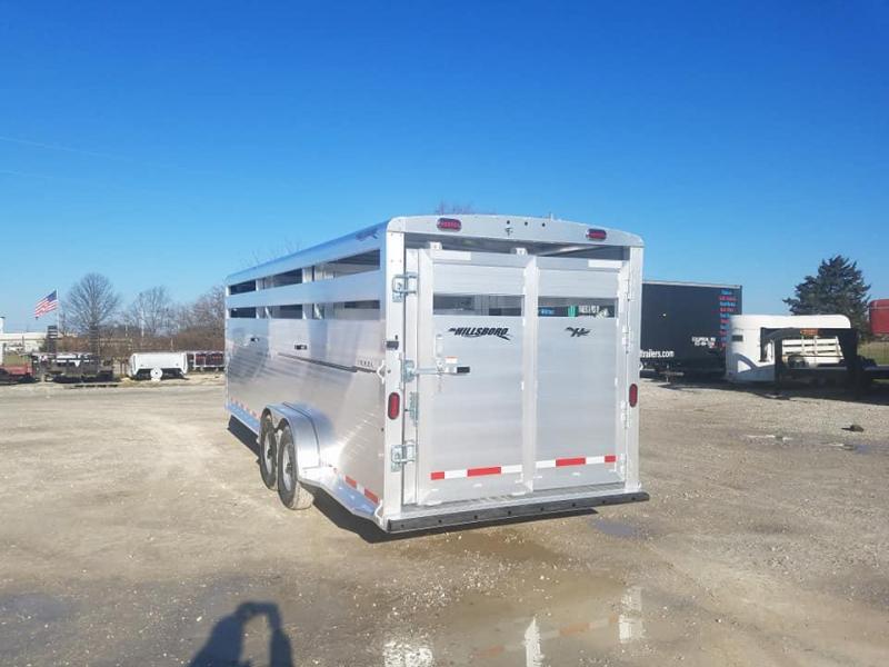 2020 Hillsboro Industries Endura Livestock Trailer
