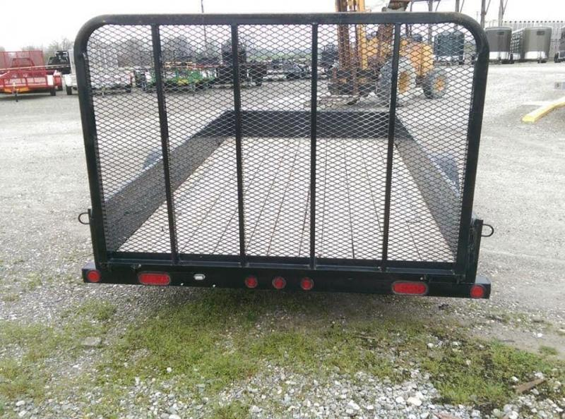 2017 Load Trail Solid Side Utility Trailer