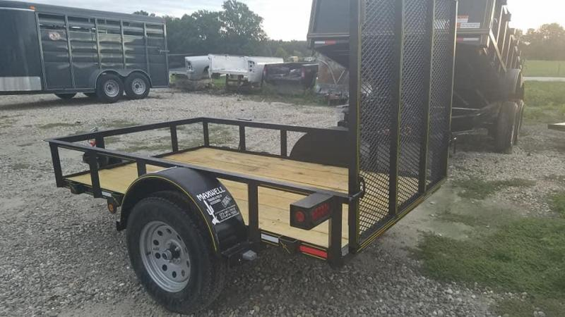 2019 Maxwell SA Railed Utility Trailer