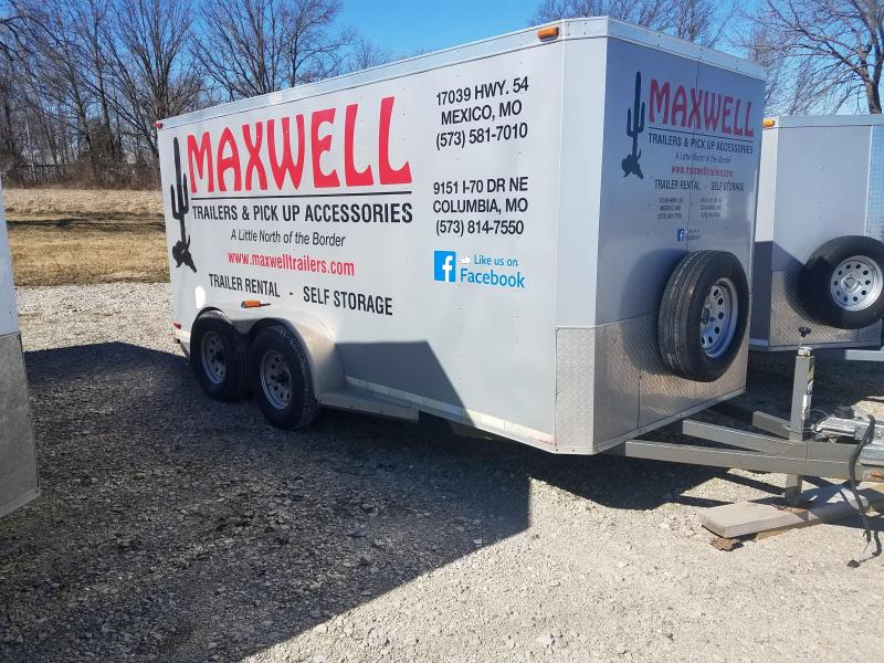 2015 Maxwell 6X14 Enclosed Cargo Trailer