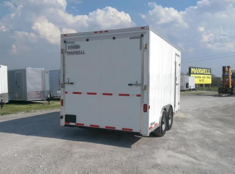2008 Cargo Express Pro Series HD Enclosed Cargo Trailer