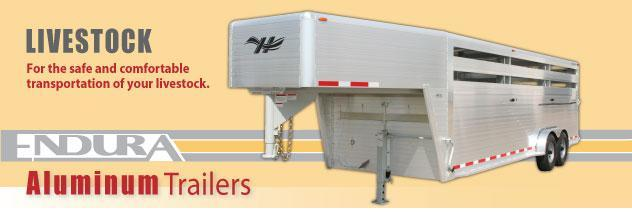 2020 Hillsboro Industries Endura Livestock Trailer