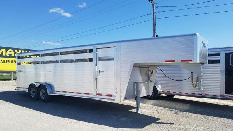 2021 Hillsboro Industries Endura Livestock Trailer