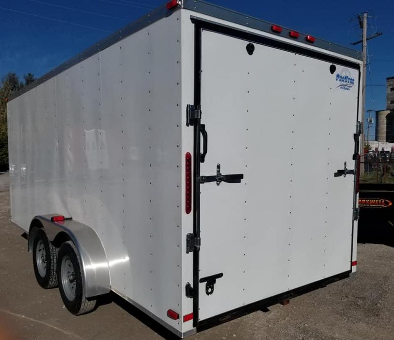 2019 Maxwell ProStar Windbreaker Enclosed Cargo Trailer