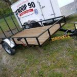 New 2019 Maxwell 77 x 10 Utility Trailer