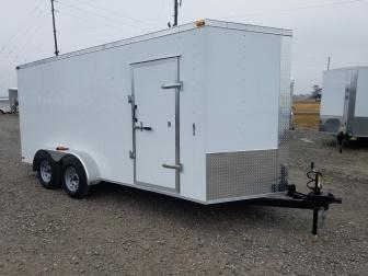 New ***DEMO*** 2019 Maxwell 7 x 16 Enclosed Cargo Trailer