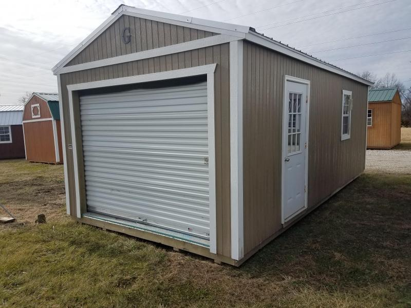 2017 Graceland Portable Buildings 12X24 Garage/Carport