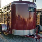 New 2019 BrushPopper 16 ft BP Livestock Trailer