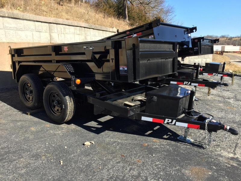 "PJ Trailers 10' x 60"" Utility Dump Trailer"