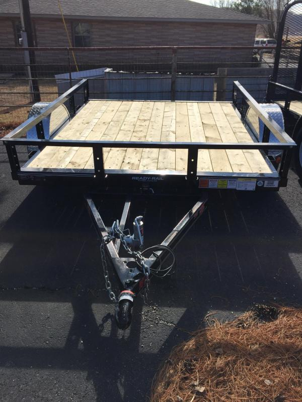 "PJ Trailers 8' x 77"" Tilt Channel Utility Trailer"