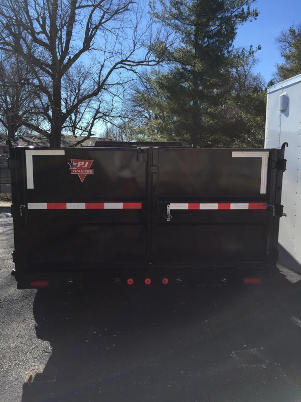 "PJ Trailers 14' x 83"" High Side Dump Trailer"