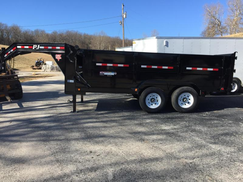 "PJ Trailers 14' x 83"" High Side Dump Trailer"