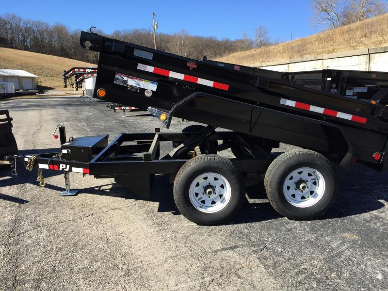 "PJ Trailers 10' x 78""  Medium Duty Dump Trailer"