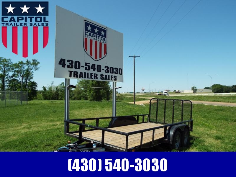 2020 X-On 16UT Utility Trailer