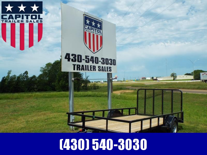 "2020 X-On 83"" X 14' Single Axle 3K (A-SA831413) Utility Trailer"