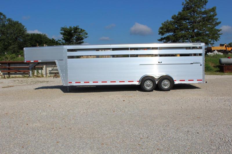 2021 Hillsboro Industries ES7-24-68 Livestock Trailer
