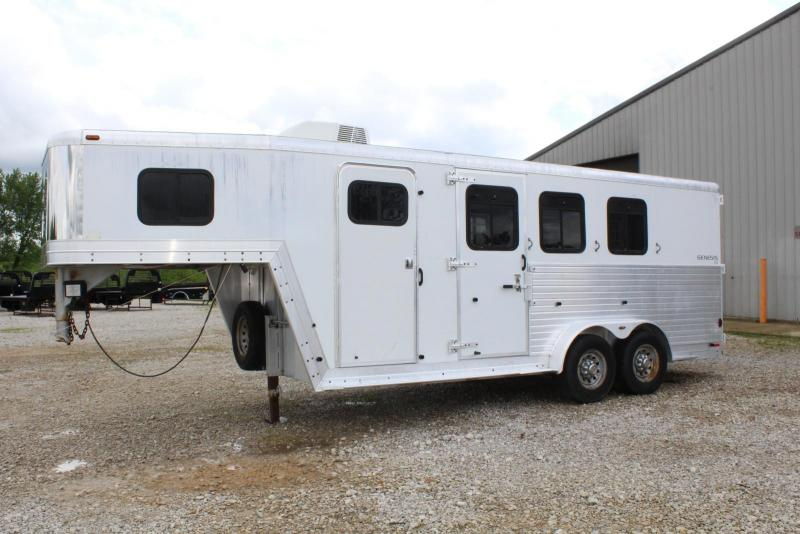 2003 Keifer Built 3 Horse Horse Trailer