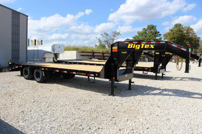 2019 Big Tex Trailers 22GN-20BK5MR Flatbed Trailer