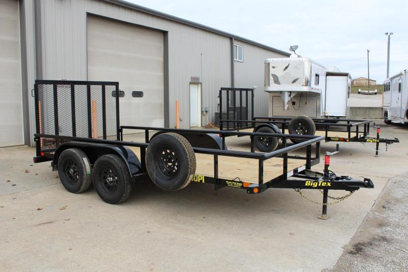 2019 Big Tex Trailers 60PI-14 Utility Trailer