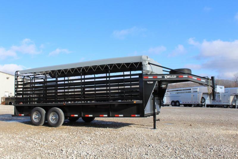 2020 Delco Trailers GB68X20 Livestock Trailer