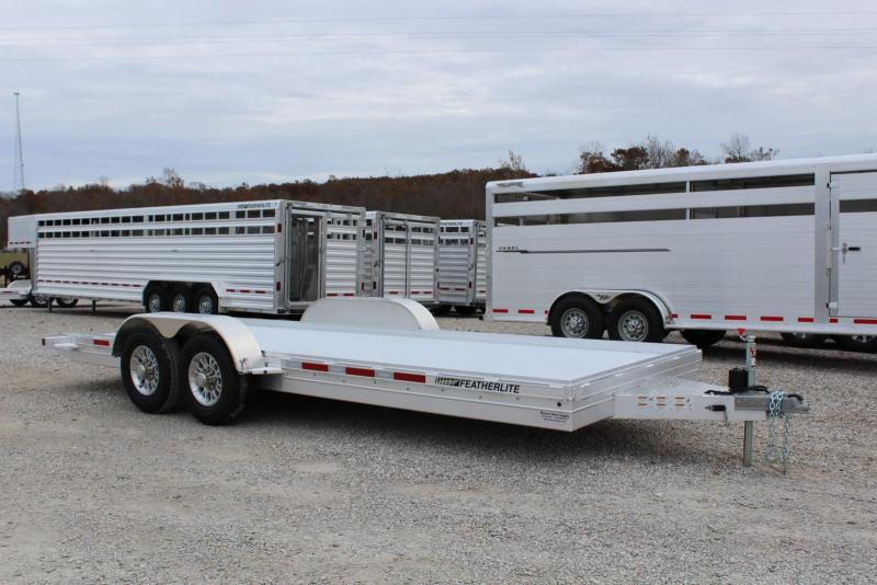 2020 Featherlite 3110-0020 Flatbed Trailer