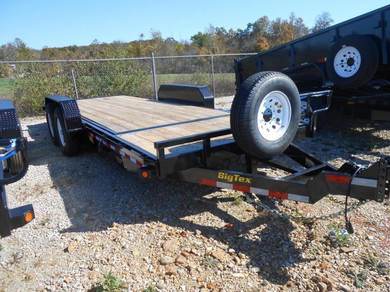 2017 Big Tex Trailers 14TL-20BK Equipment Trailer