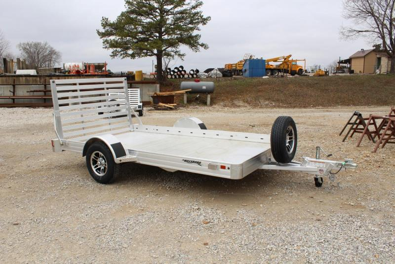 2020 Hillsboro Industries AU7812 Utility Trailer