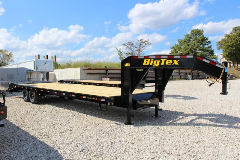 2020 Big Tex Trailers 14GN-205 Equipment Trailer