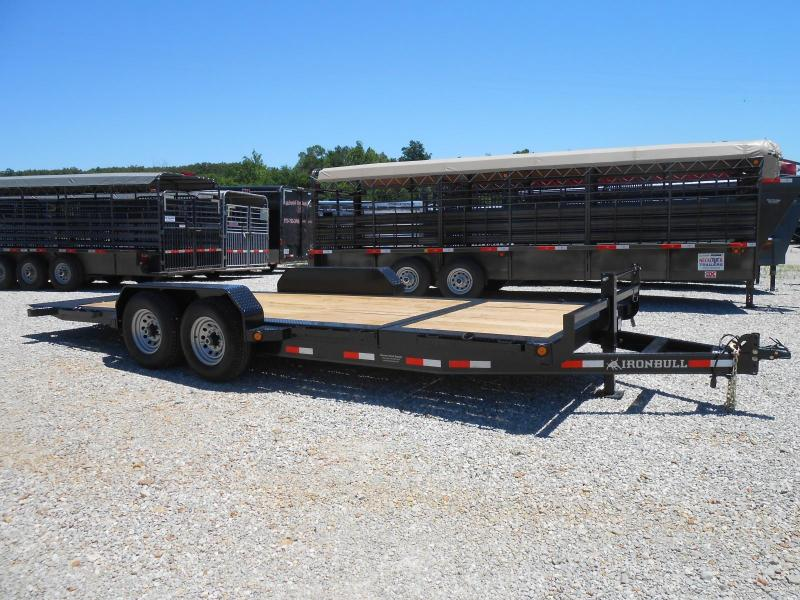 2018 Iron Bull TLB8320072 Equipment Trailer