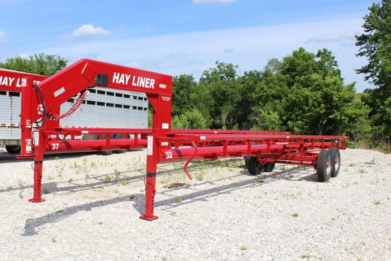 32' Hay Liner 6 Bale Trailer