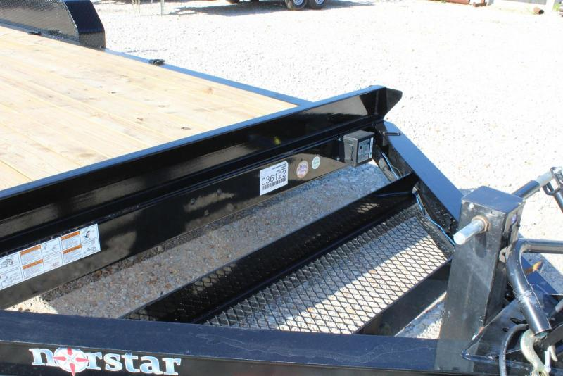 2019 Norstar EXB 83 x 20 Equipment Trailer