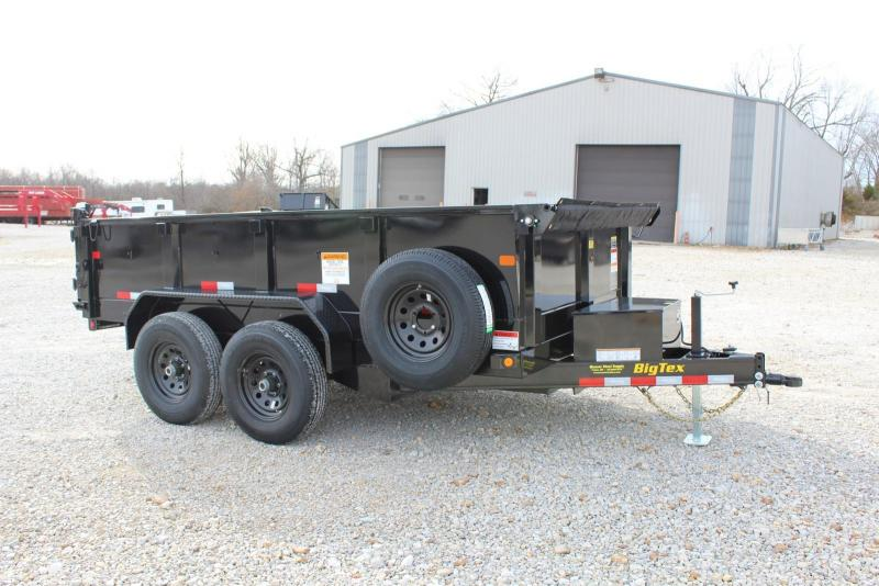 2020 Big Tex Trailers 10SR-12XL Dump Trailer