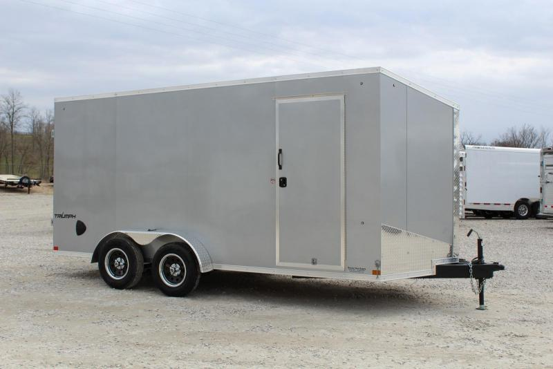 2021 Formula TRIUMPH 7 x 16 Enclosed Cargo Trailer