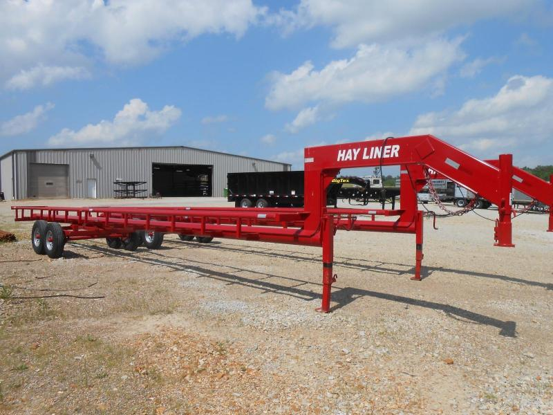 Other 37' Hay Liner 7 Bale Trailer