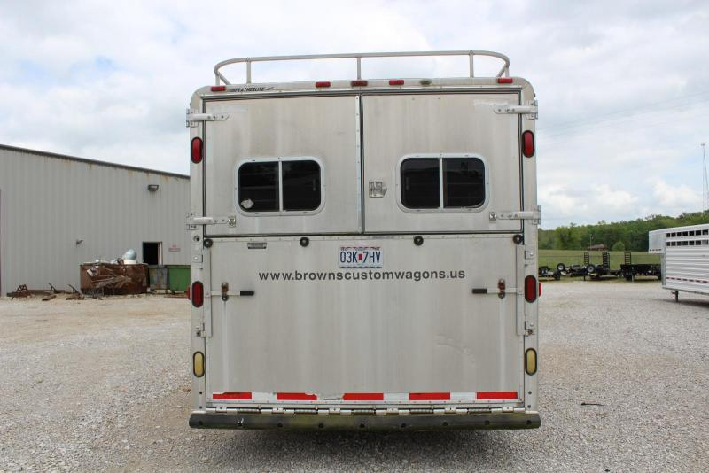 1998 Featherlite 8400 Horse Trailer