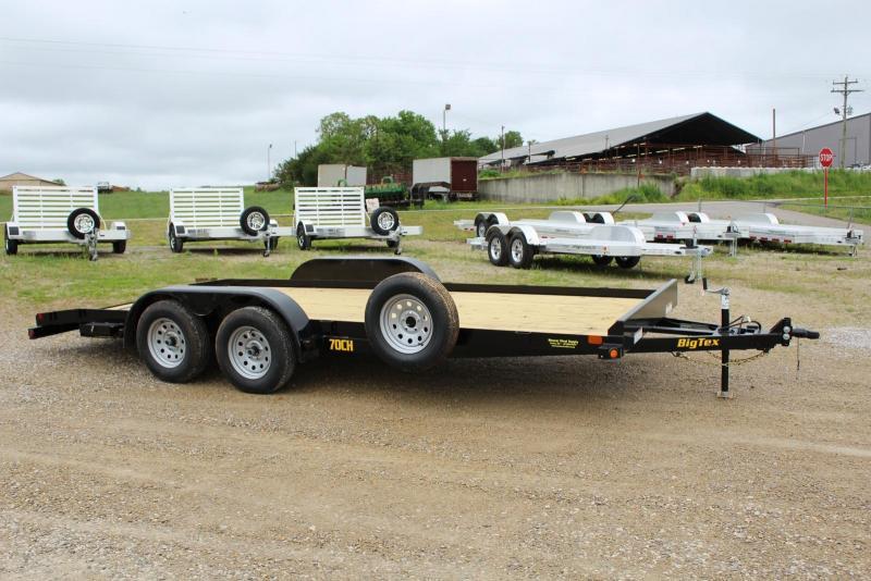 2020 Big Tex Trailers 70CH-18BKDT Car / Racing Trailer