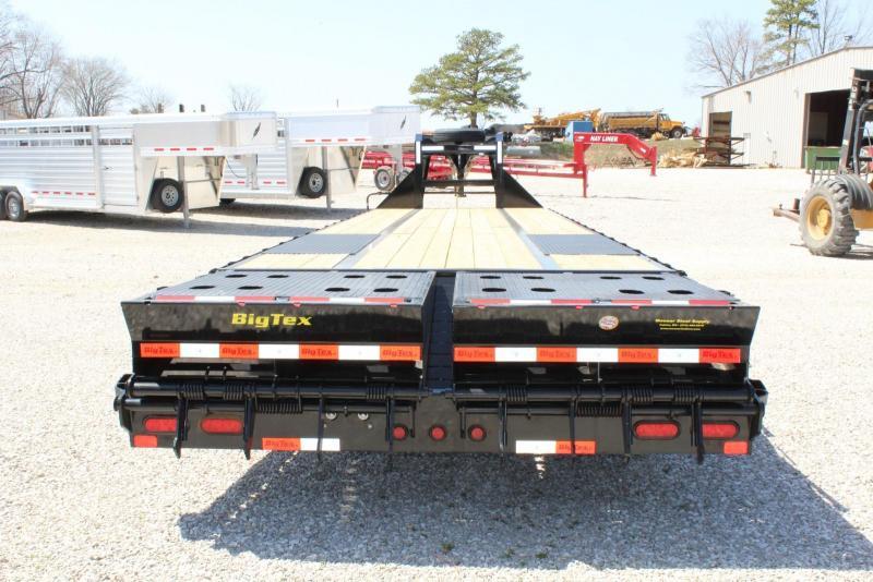 2020 Big Tex Trailers 22GN-30BK5MR Flatbed Trailer