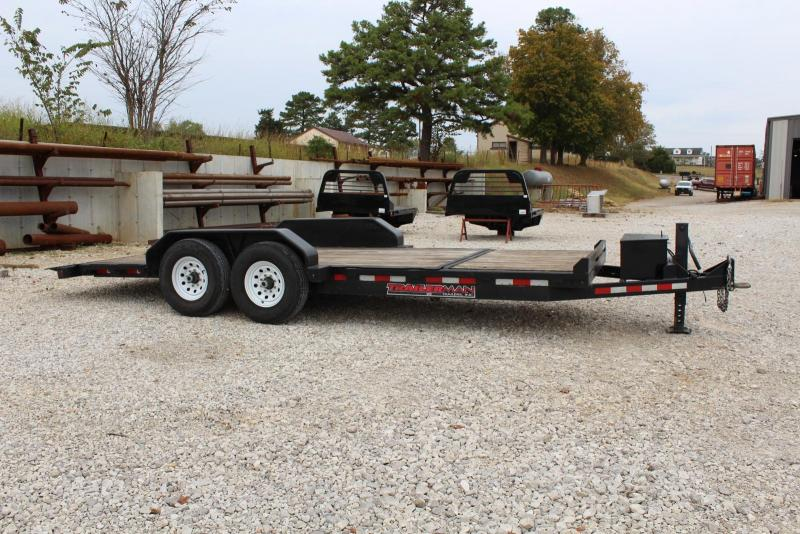 2016 Trailerman Trailers Inc. 164 Tilt Equipment Trailer