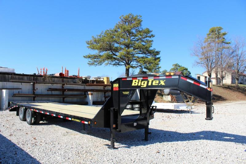 2020 Big Tex Trailers 22GN-25BK5MR Flatbed Trailer